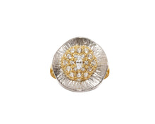 Ring for Girls | Thai Gold Flower front view | Gold Plated | Kukka Jewelry