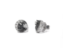 Moon Eclipse side view | Ladies' Studs Gold | Kukka Jewelry