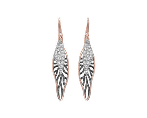 Earrings for Ladies | Woods Drop | Kukka Jewelry