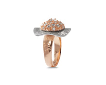 Ring for Girls | Gold Plated | Thai Rose Gold Flower main view | Kukka Jewelry