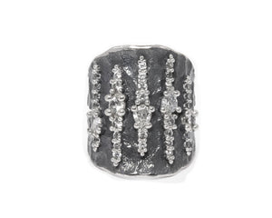 Ring for Ladies main view | White Gold | Kukka Jewelry