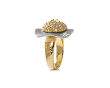 Ring for Girls | Thai Gold Flower main view | Gold Plated | Kukka Jewelry
