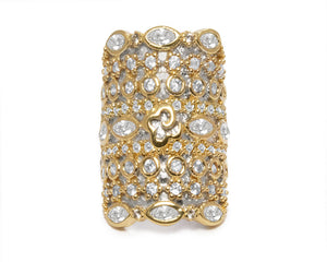 18kt Gold Plated Ring 'Thai Gold Majesty ' for Girls