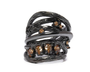 Bourbon Vanilla Seduction | Women's Ring | Kukka Jewelry