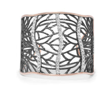Women's Cuff | Woods River | with Pink Gold | Kukka Jewelry