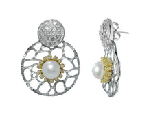 Alma Perla Yellow by left | Women's Earrings | Kukka Jewelry