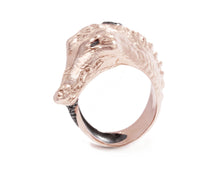 Caiman Lunge hole view | Women's Ring | Kukka Jewelry