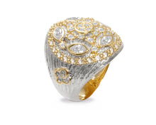 Thai Gold Imperial main view | Gold Sterling Silver Plated Ring for Her | Kukka Jewelry