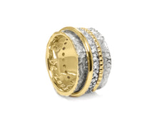 Ring for Women | Gold Intimacy main view | Yellow Gold Plated | Kukka Jewelry""