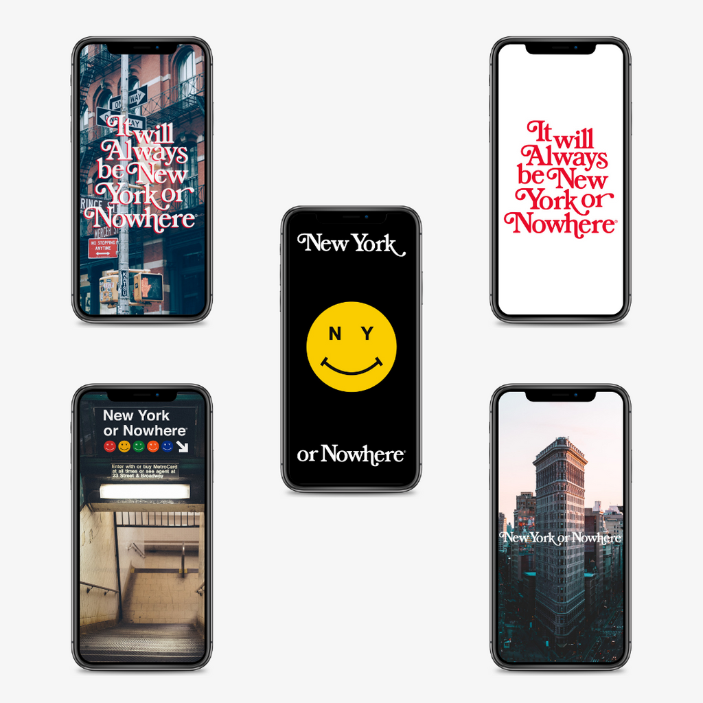 "NYON® Wallpapers ""Always"" Edition (Free Digital Download) - New York or Nowhere®"