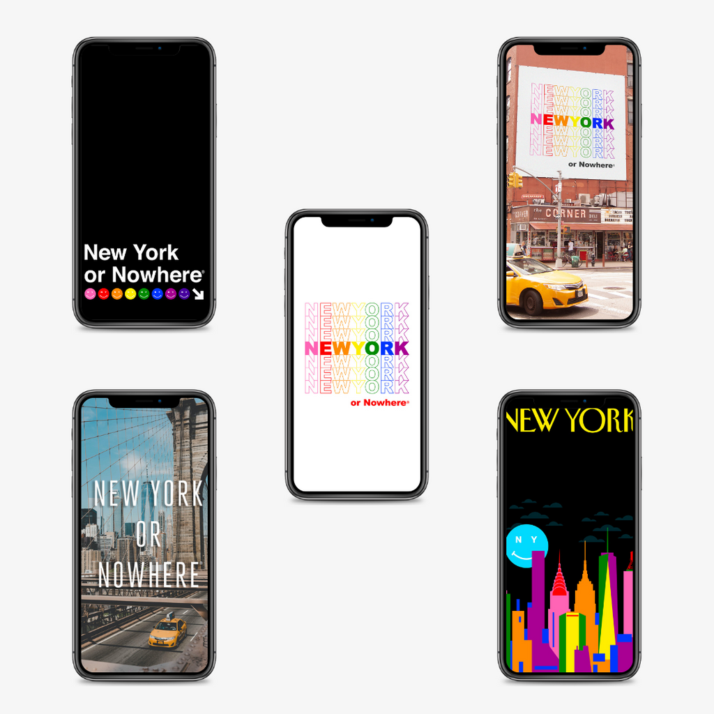 "NYON® Wallpapers ""Confetti"" Edition (Free Digital Download) - New York or Nowhere®"