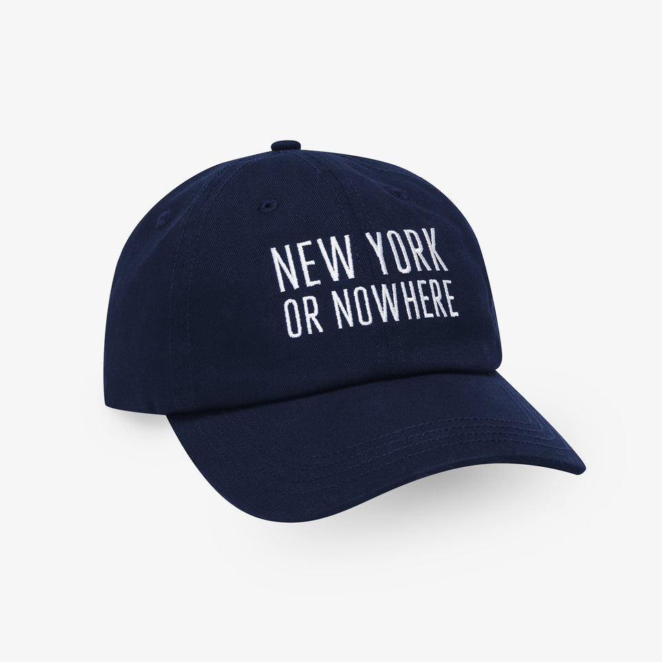 "NYON® ""Classic"" Dad Hat - Navy - New York or Nowhere® - NYON® by Knowlita"