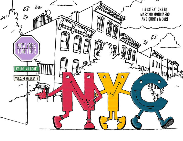 NYON® Coloring Book (Free Digital Download) - New York or Nowhere® - NYON® by Knowlita