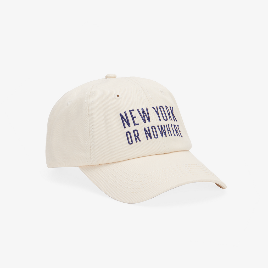 "NYON® ""Classic"" Dad Hat - Cream - New York or Nowhere®"
