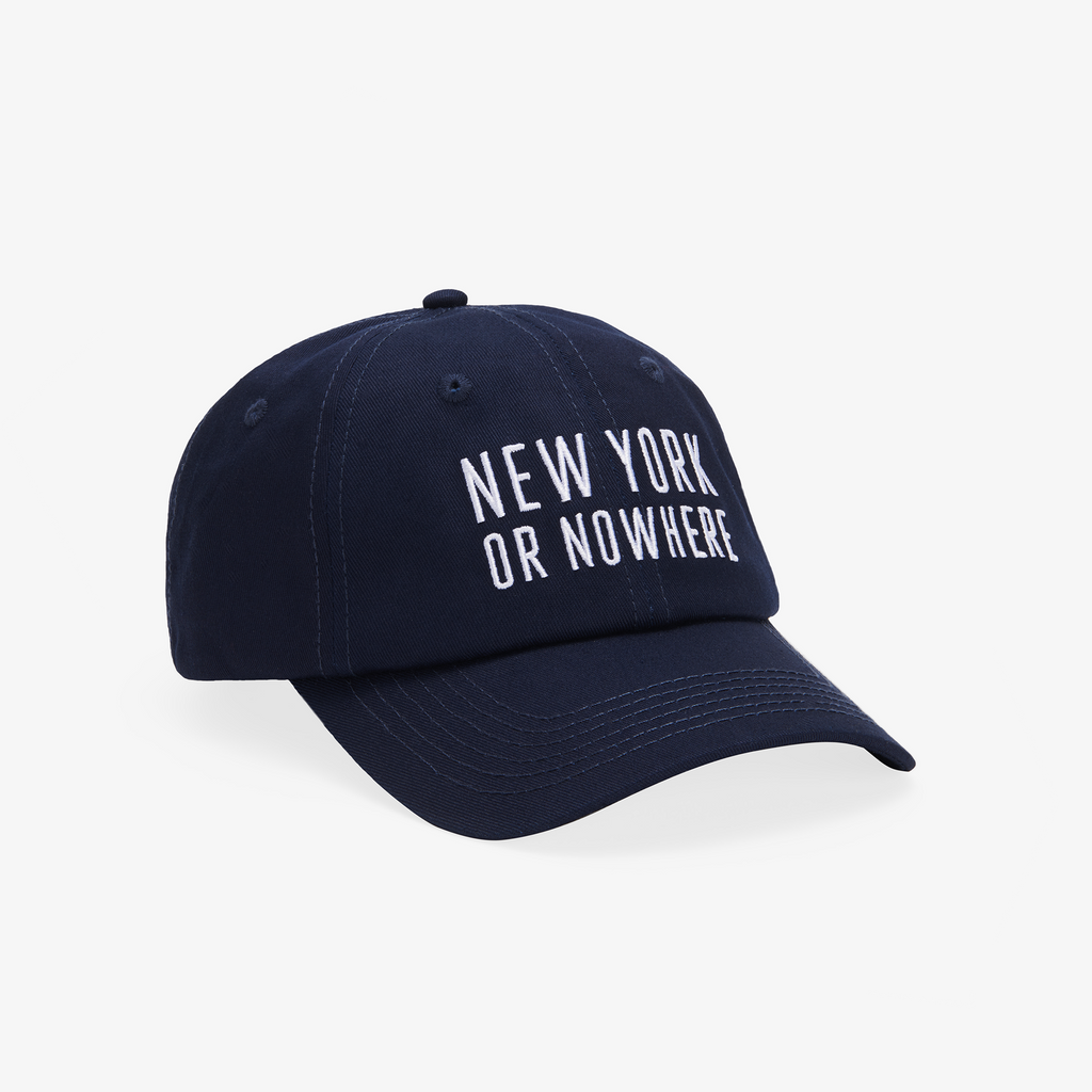 "NYON® ""Classic"" Dad Hat - Navy - New York or Nowhere®"