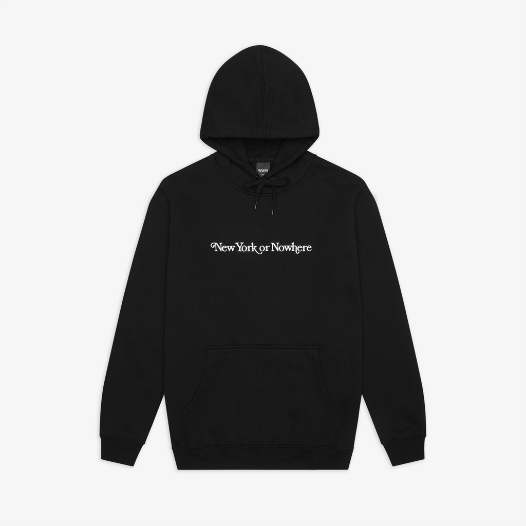"NYON® ""Crosby"" Deluxe Hoodie - Black - New York or Nowhere®"
