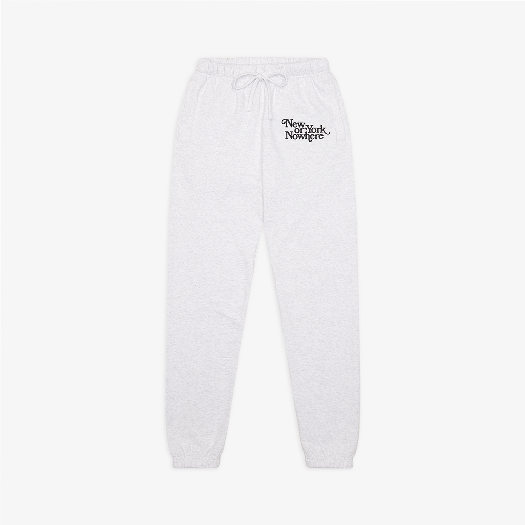 "NYON® ""Ludlow"" Sweatpants - White Heather - New York or Nowhere®"