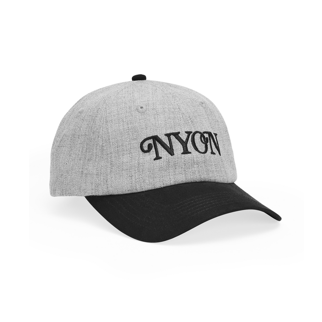 "NYON® ""Mott"" Wool Cap - Heather Grey - New York or Nowhere®"