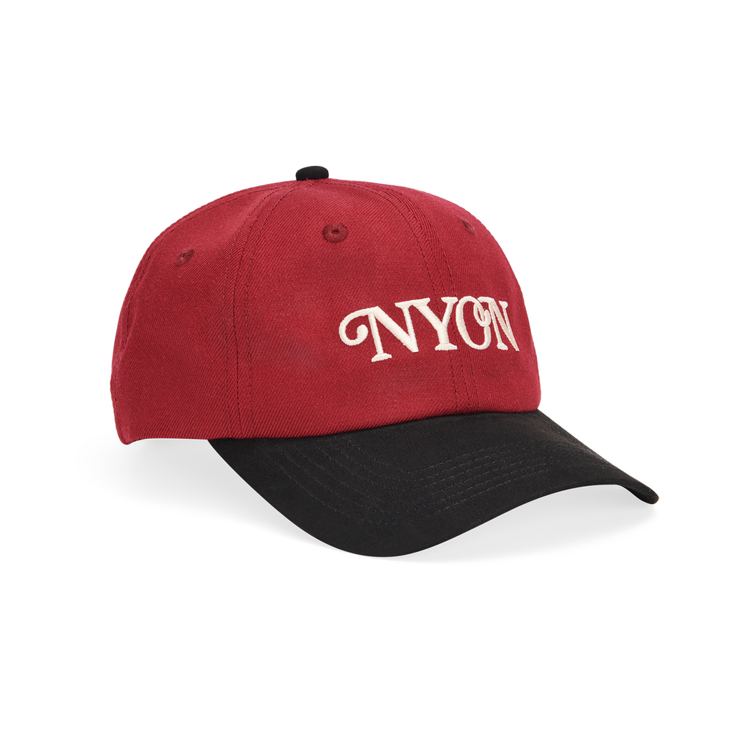 "NYON® ""Mott"" Wool Cap - Maroon - New York or Nowhere® - NYON® by Knowlita"