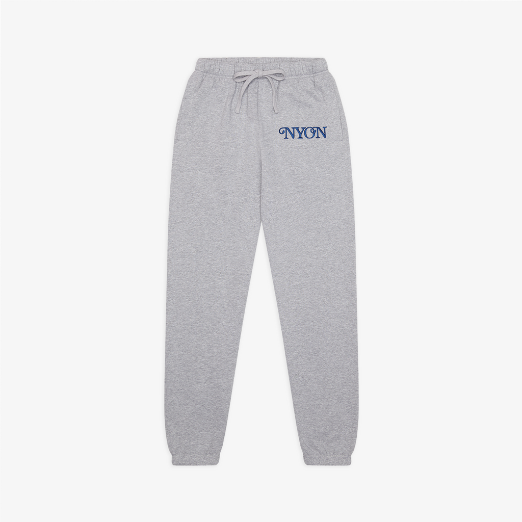 "NYON® ""Mott"" Sweatpants - Heather Grey - New York or Nowhere®"