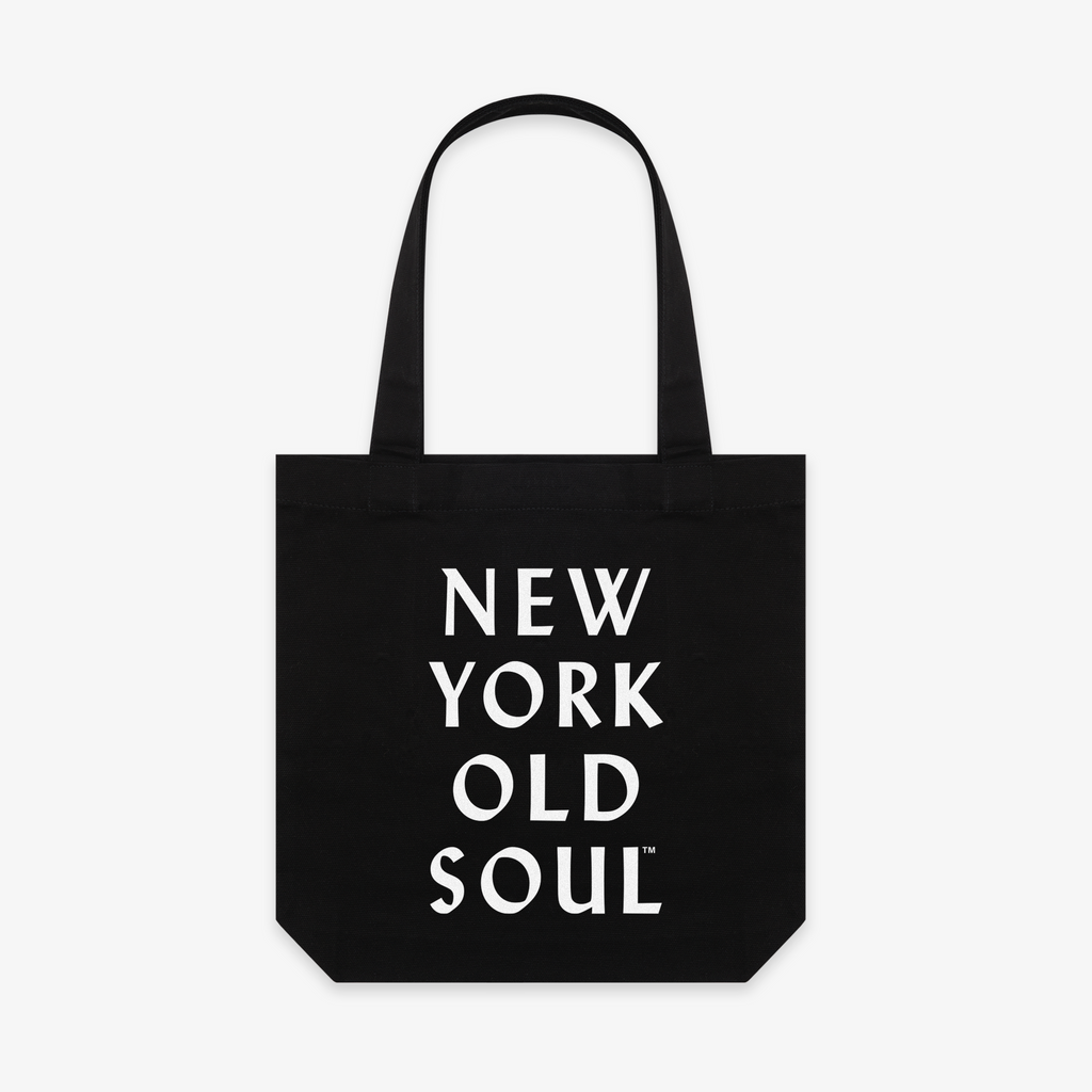 "NYON® ""Old Soul' Tote - Black - New York or Nowhere® - NYON® by Knowlita"