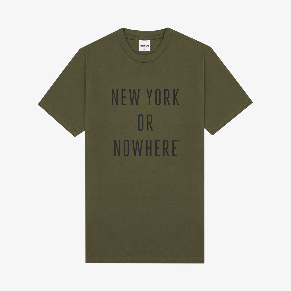 "NYON® ""Classic"" Tee - Army/Black - New York or Nowhere®"