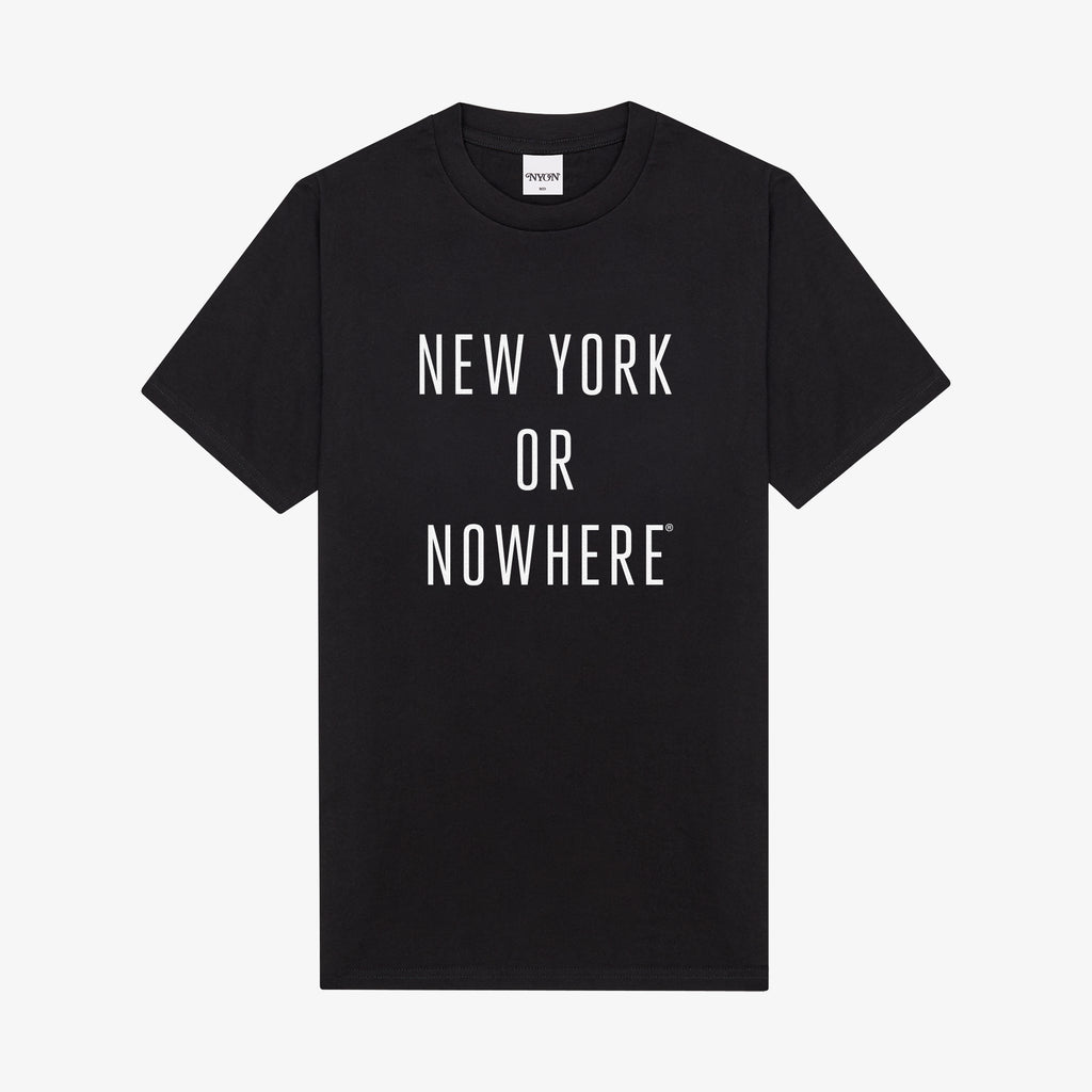 "NYON® ""Classic"" Tee - Black/White - New York or Nowhere®"