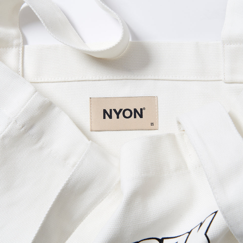 "NYON ""Classic"" Tote - Cream - New York or Nowhere® - NYON® by Knowlita"