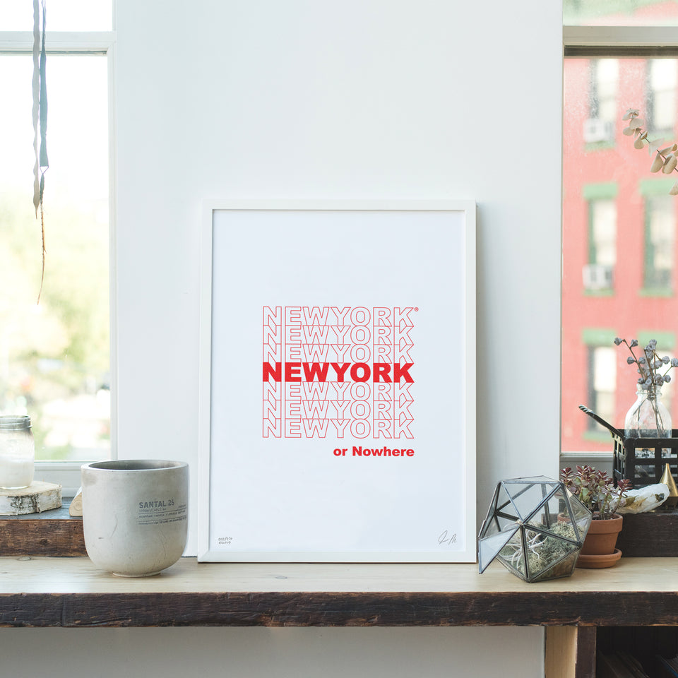 "NYON ""Bodega"" Print - New York or Nowhere® - NYON® by Knowlita"