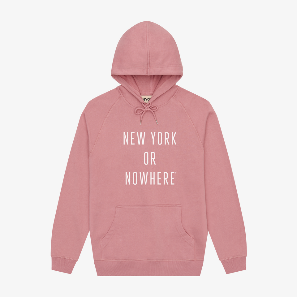 "NYON ""Classic"" Hoodie - Rose (PRE-ORDER) - New York or Nowhere® - NYON® by Knowlita"