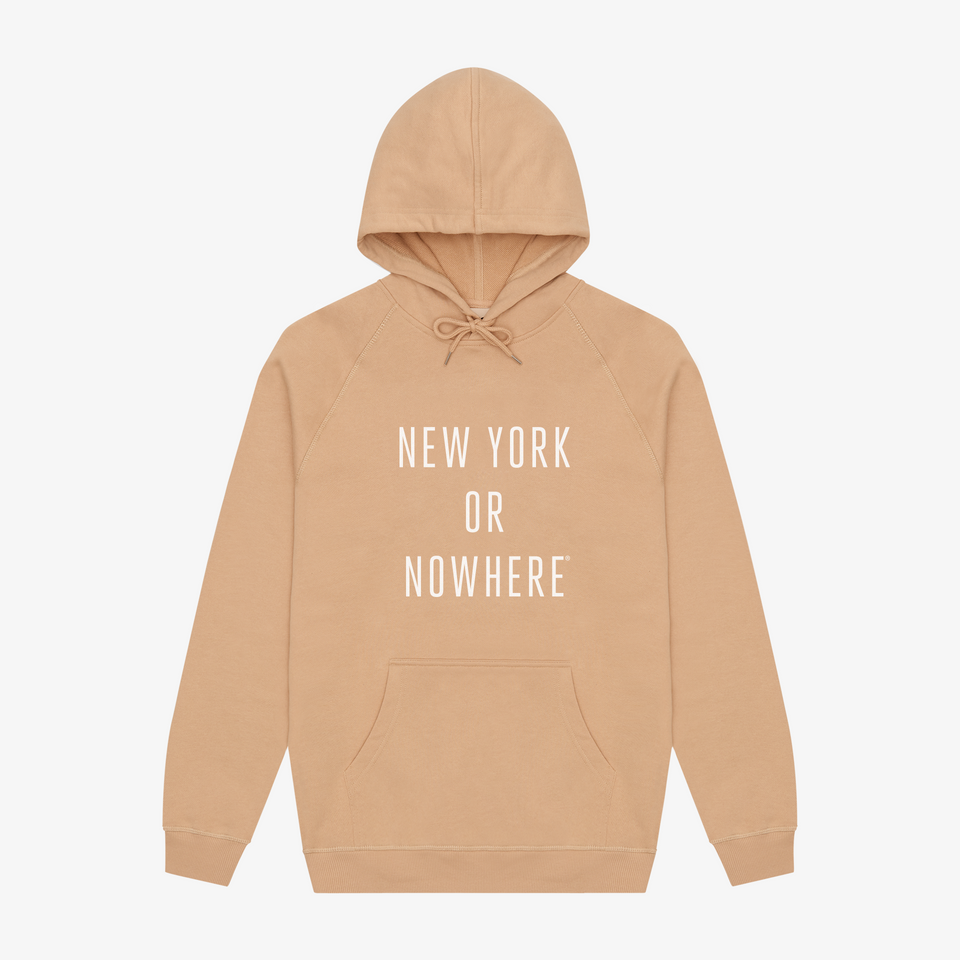 "NYON ""Classic"" Hoodie - Tan - New York or Nowhere® - NYON® by Knowlita"