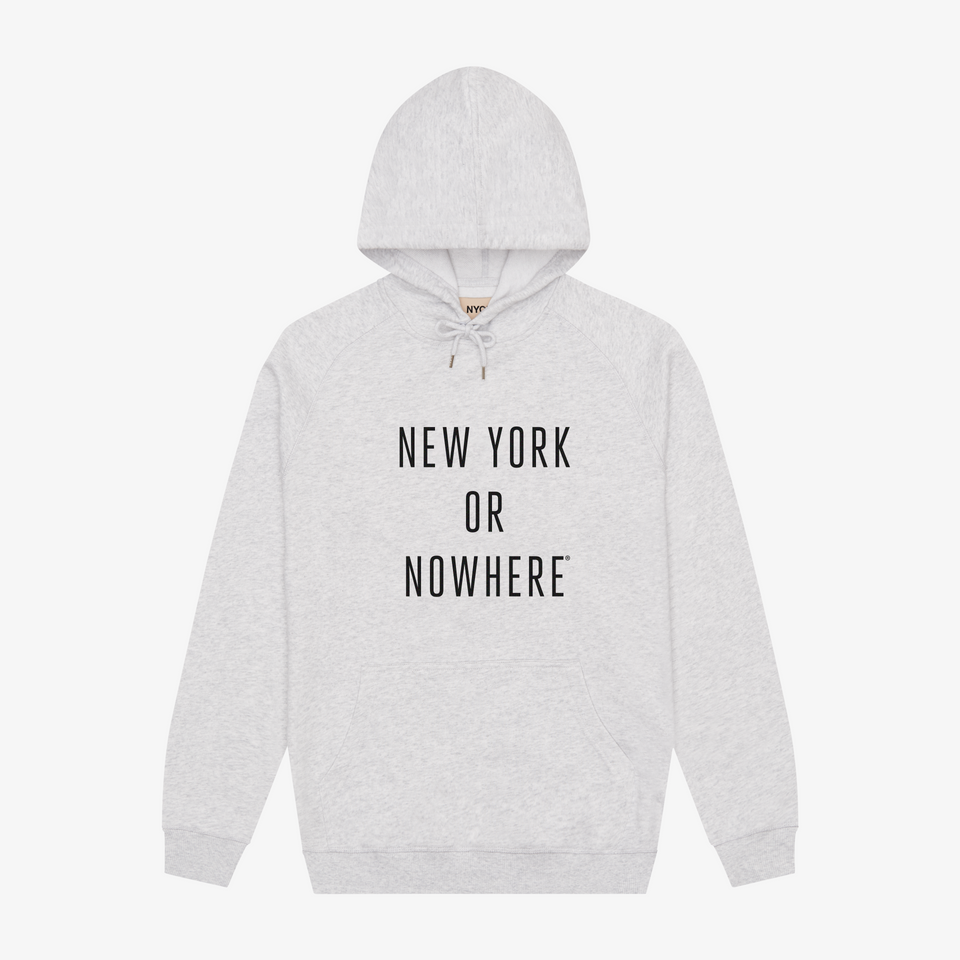 "NYON ""Classic"" Hoodie - Slate Blue - New York or Nowhere® - NYON® by Knowlita"
