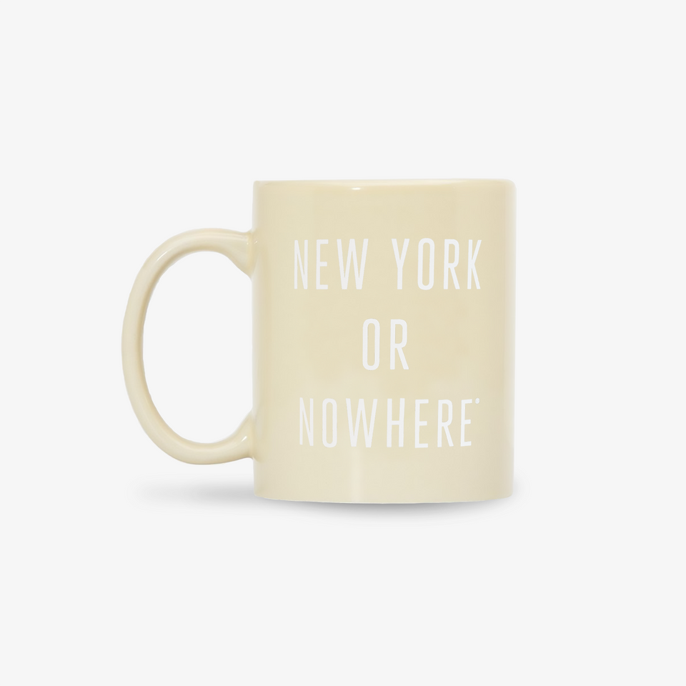 "NYON ""Classic"" Mug - Cream - New York or Nowhere® - NYON® by Knowlita"