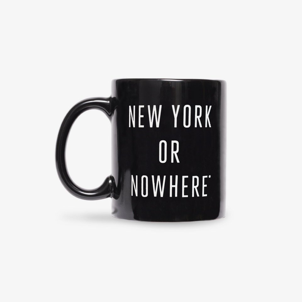 "NYON ""Classic"" Mug - Black - New York or Nowhere® - NYON® by Knowlita"