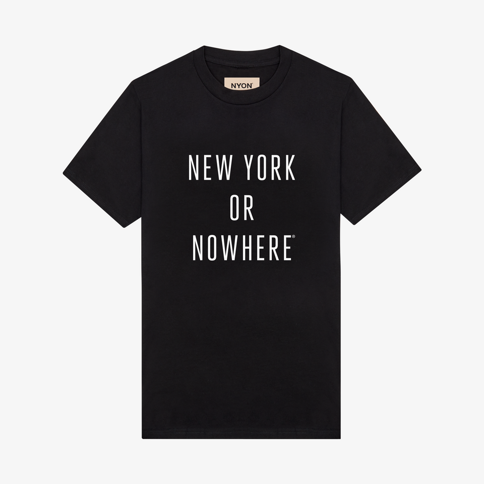 "NYON ""Classic"" Tee - Black - New York or Nowhere® - NYON® by Knowlita"