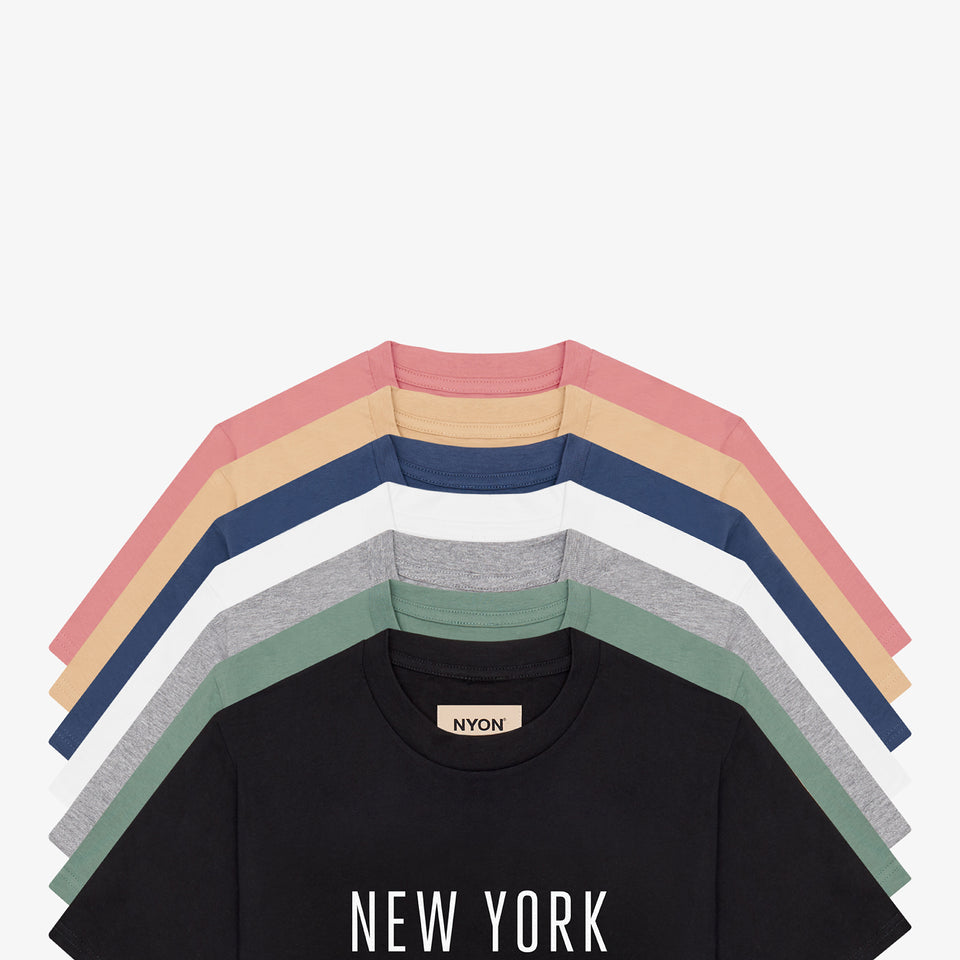 "NYON® ""Classic"" Tee - Black - New York or Nowhere® - NYON® by Knowlita"