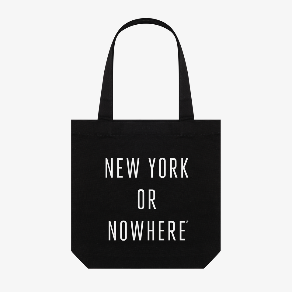 "NYON ""Classic"" Tote - Black - New York or Nowhere® - NYON® by Knowlita"