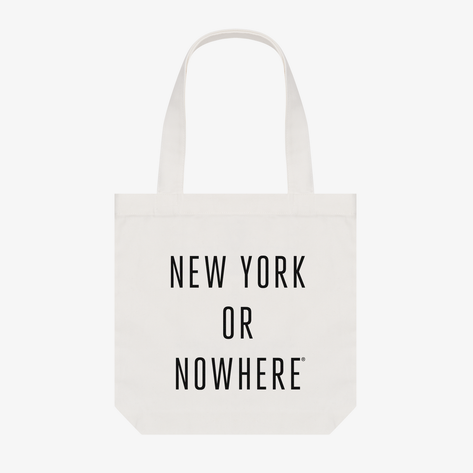 "NYON® ""Classic"" Tote - Black - New York or Nowhere® - NYON® by Knowlita"