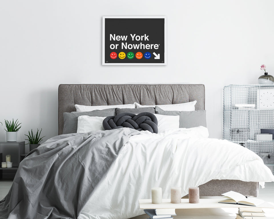 "NYON® ""Canal Street"" Print - Black - New York or Nowhere® - NYON® by Knowlita"