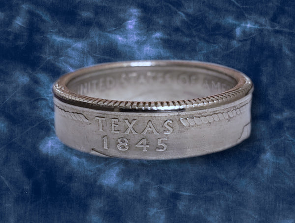 Texas State Quarter Dollar Ring