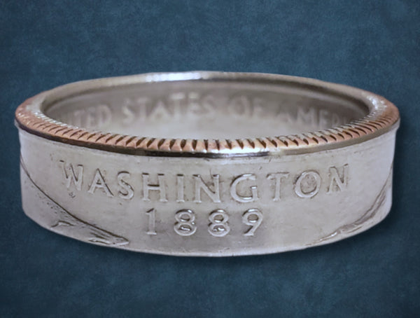 Washington State Quarter Dollar Ring