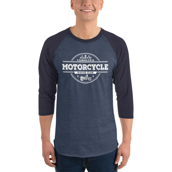 North Carolina Motorcycle Rider's Club Raglan