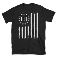Three Percenter Distressed American T-Shirt