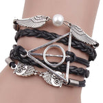 Deathly Hallows Winged Wrist Piece