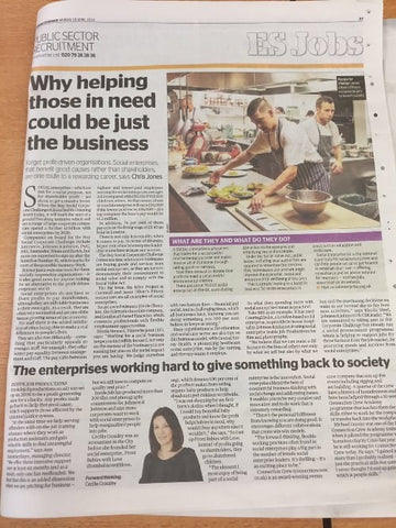 The Evening Standard features From Babies with Love and Social Enterprise this #RBWeek