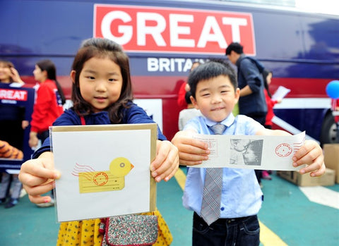 From Babies with Love - Britain is GREAT campaign in Korea