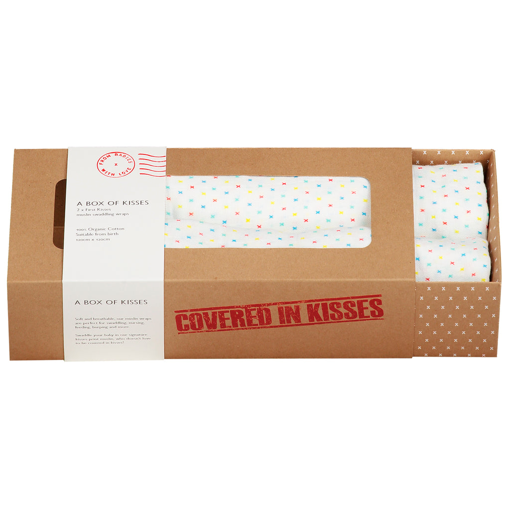 A Box of Kisses - First Kisses - From Babies with Love 100% of Profit to Vulnerable Children