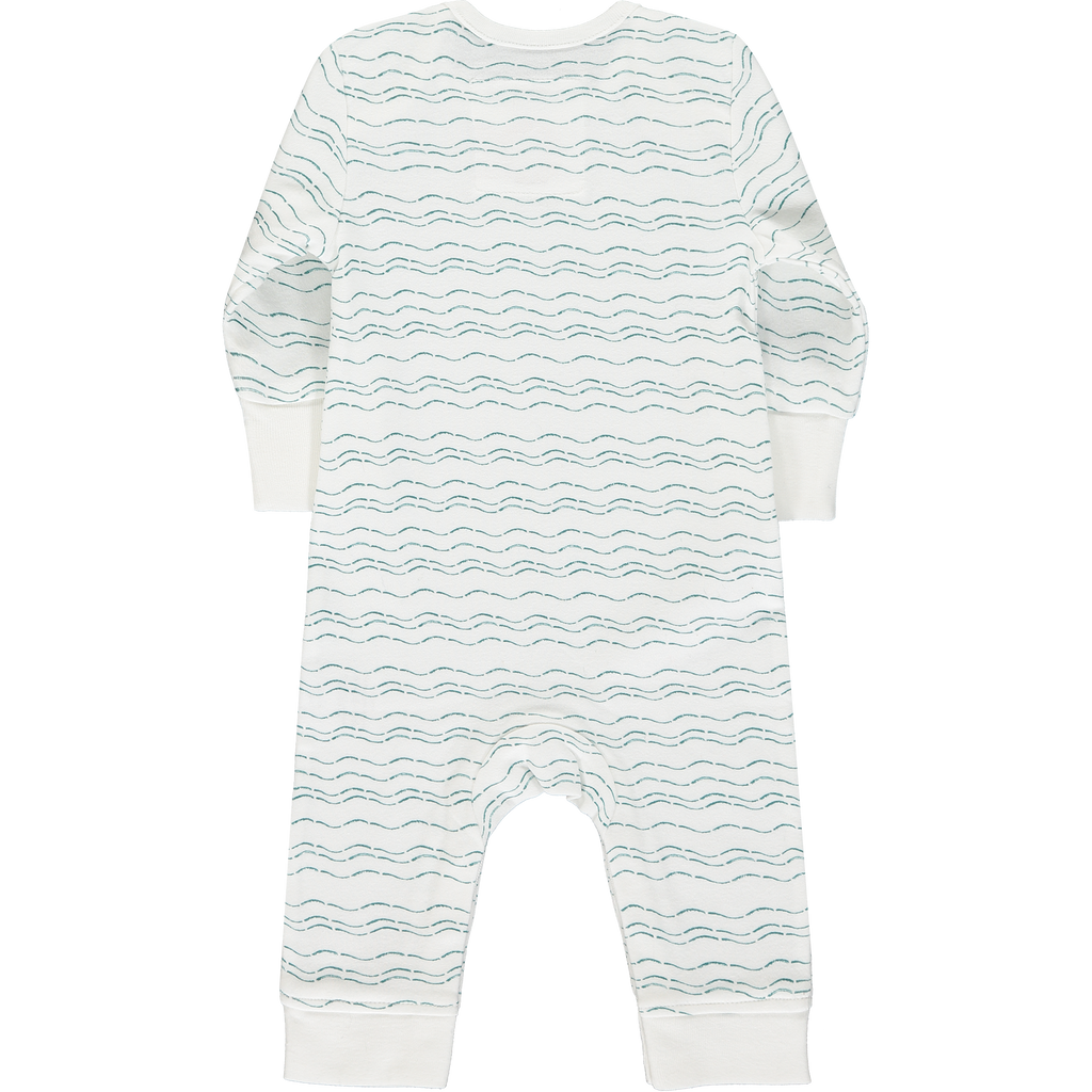 Back baby grow - Send love and kindness with our Waves of Joy organic baby grow, a heartfelt and beautiful baby gift.