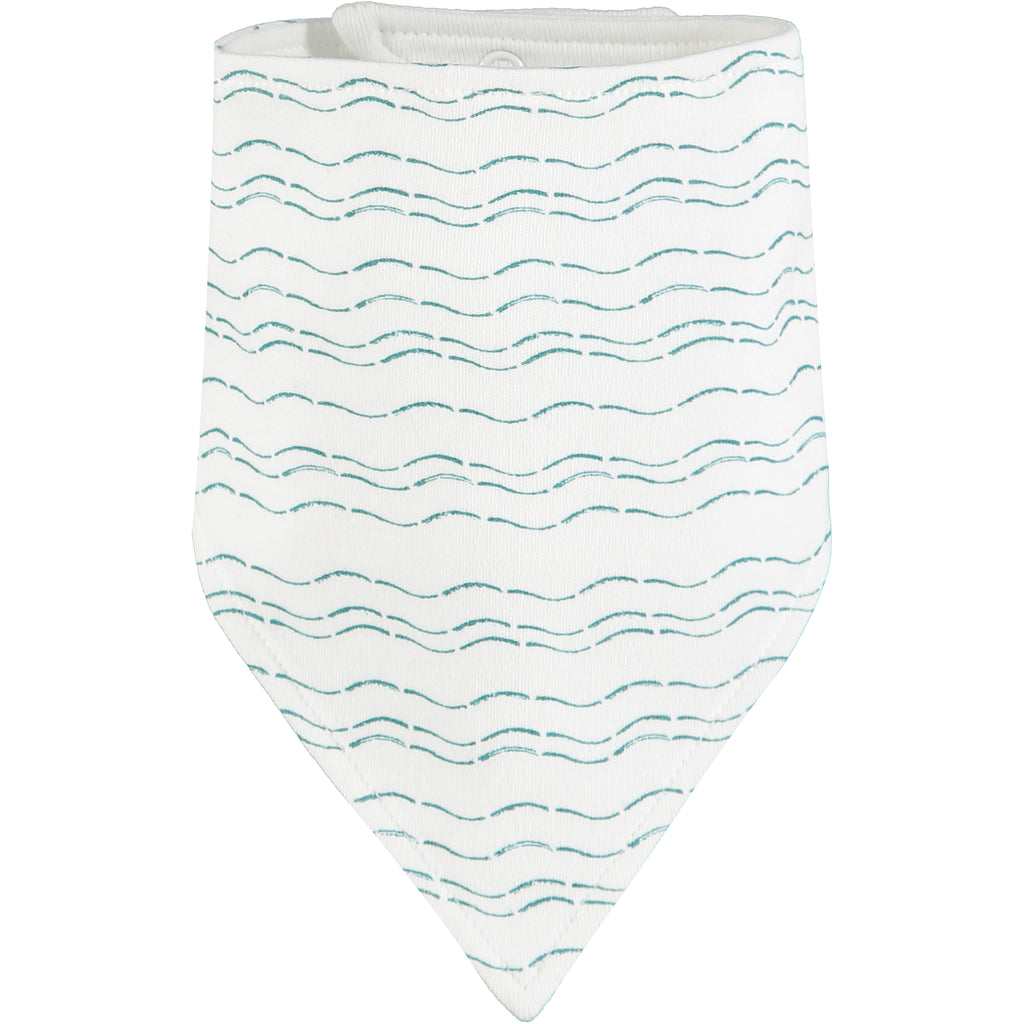 Send love and kindness with our Waves of Joy organic bandana bib, a heartfelt and beautiful baby gift.