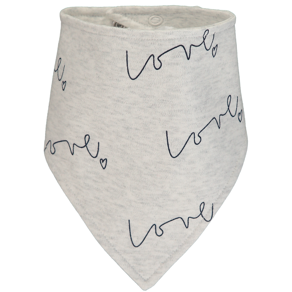Bib - Our Love baby bib is made with luxuriously soft organic cotton; give the gift of love!